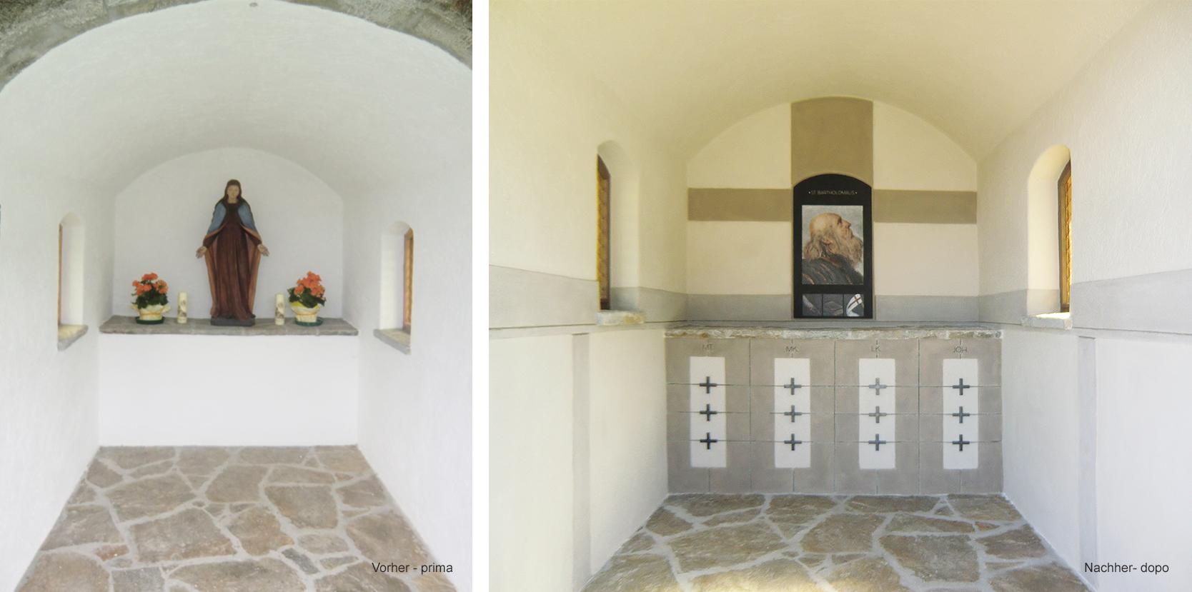 Privatkapelle | Chiesetta Gompmalm