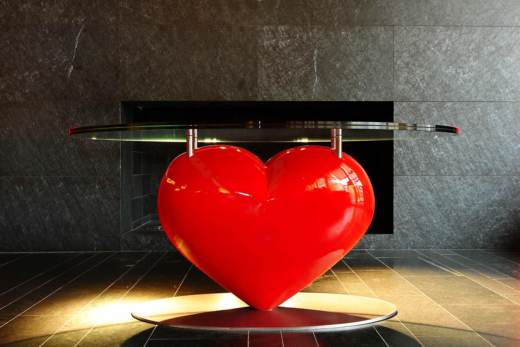 Herztisch | tavolo cuore