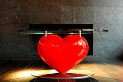 Herztisch   tavolo cuore