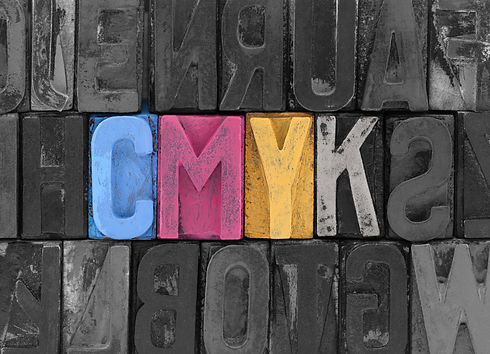 Cmyk made from old letterpress blocks.jp