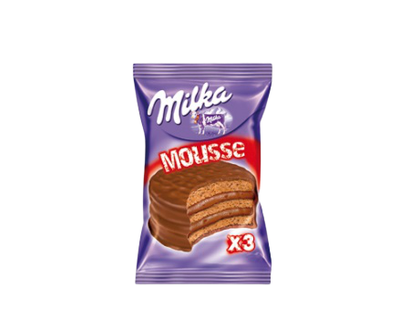 Alfajor Milka Mousse triple