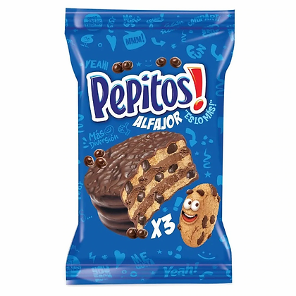 Alfajor Pepitos triple
