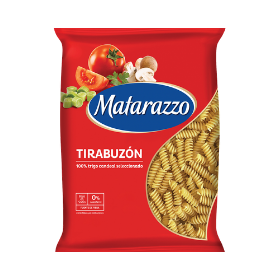 Fideos Matarazzo tirabuzón