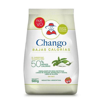 Azúcar Chango bajas calorías con stevia