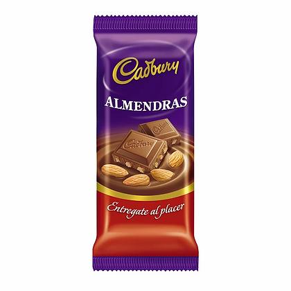 Chocolate Cadbury almendras