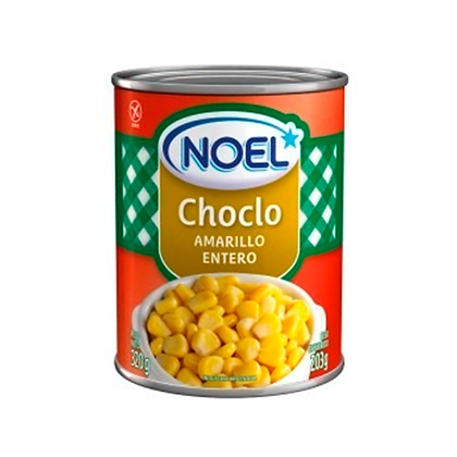 Choclo amarillo entero Noel