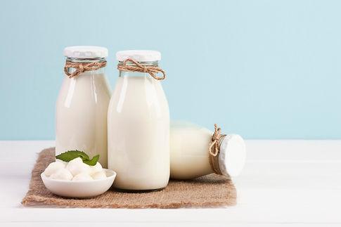 leche yogur crema