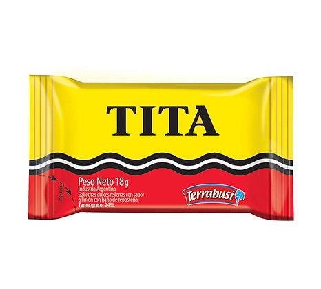 Galletita Tita bañada en chocolate