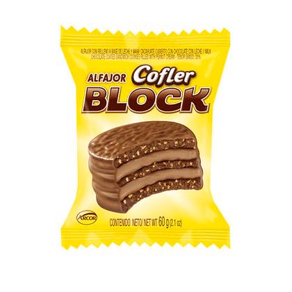 Alfajor Cofler Block triple