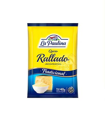 Queso rallado La Paulina