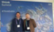 Kieran Beggan and George Harold at IBM Think Summit