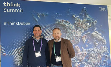 Kieran Beggan and George Harold at IBM Think Summit