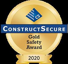 Gold Safety Award 2020