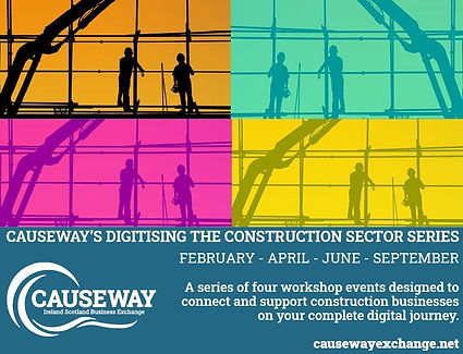 digitizing the construction sector poster