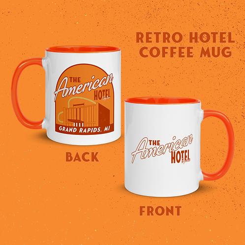 Retro Hotel Mug