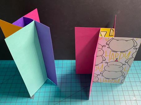 Easy Pinwheel cards with Cricut!