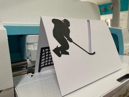 Cricut Interactive Cards | Hockey & Racing