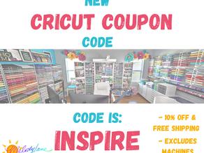 Current Cricut Discount Code!