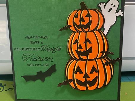 Pop Up Halloween Tree Card