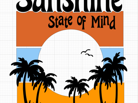 Sunshine State of Mind with Infusible Ink
