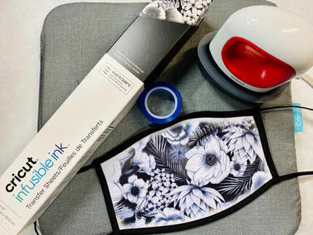 Cricut Infusible Ink on Masks!