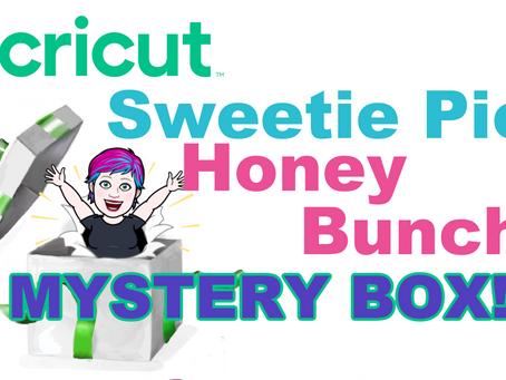Cricut MYSTERY BOX ANNOUNCED! Sweetie Pie, Honey Bunch Mystery Box!