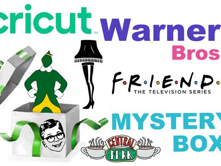 Warner Bros. Cricut Digital Mystery Box Released!