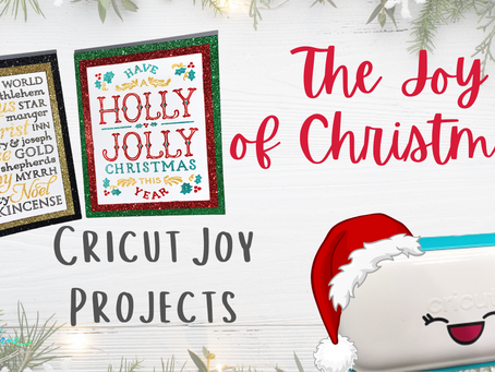 The Joy of Christmas - Plaque Cards