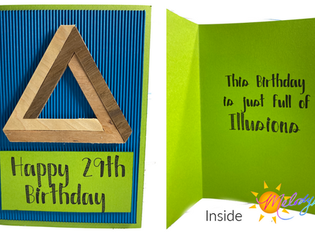 TWO VIDEOS! Illusion Card with Cricut