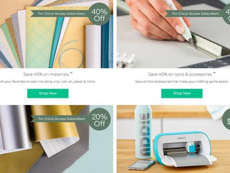 Cricut Sale | Save more | Coupon Code