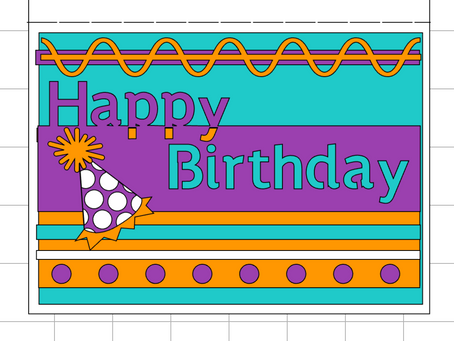 5x7 Birthday Card for EVERYONE!