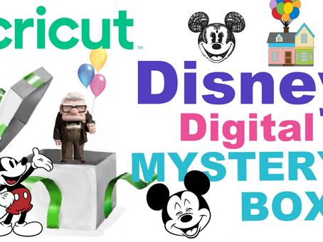 Disney Digital Cricut Mystery Box!