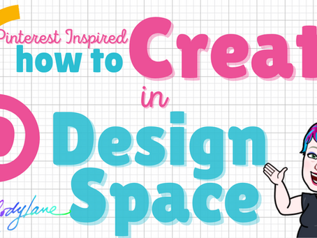 FREE CUTIE! Don't Miss Pinterest Inspired Design Space Class!