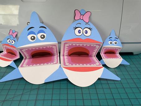 Paper Shark Puppet with Cricut!