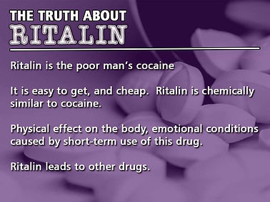 Ritalin or NO Ritalin?