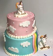 Unicorn Cloud Cake