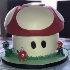 Super Mario Brothers Cake