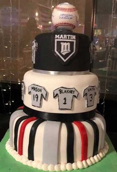 Martin Baseball Cake