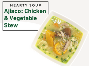 Chicken Ajiaco (Soup)