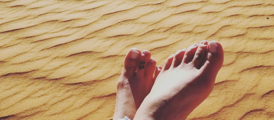 Barefoot and Alone