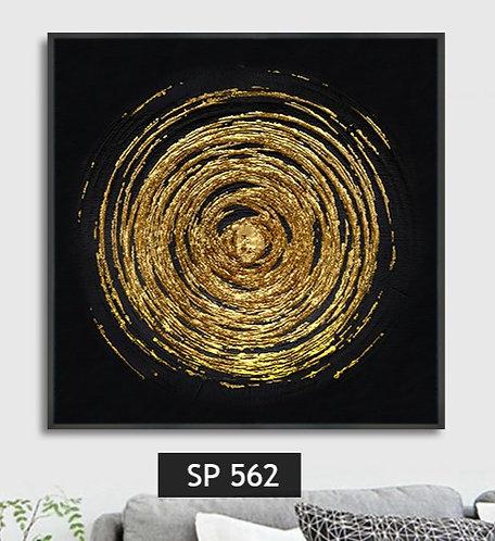 פיצוץ זהב ברקע שחור