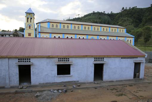 Divers bâtiments construits