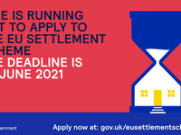 Time is running out for applications to the EU settlement Scheme