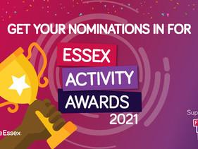 Essex Activity Awards - Make Your Nomination