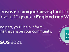 Census 2021 - have you got your code?