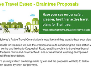 Active travel essex - have your say