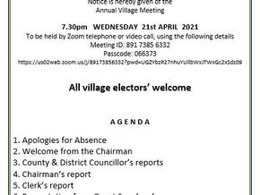 Annual Village meeting