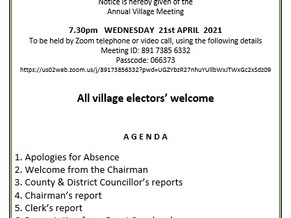 Annual Village meeting