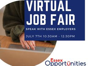 Virtual job fair - essex
