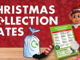 Christmas & New Year bin, waste & recycling collection changes